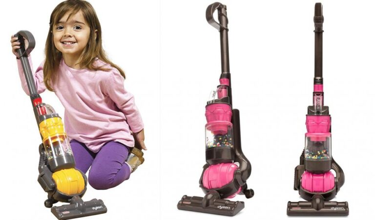 Dyson Has A Working Jumo-Sized Vacuum Cleaner For Kids And It's Awesome