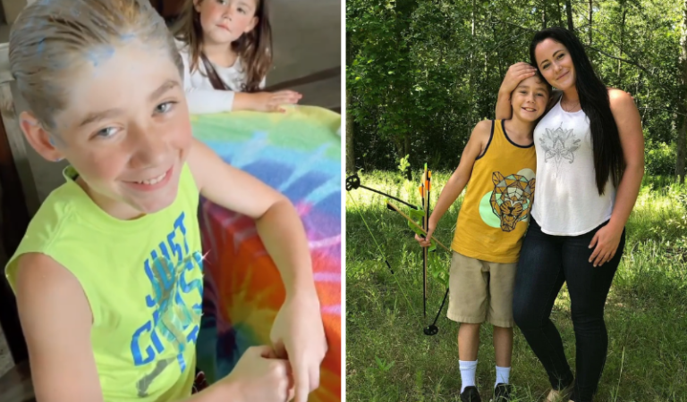 Teen Mom Star Jenelle Evans Accidentally Dyes Her Son's Hair Yellow