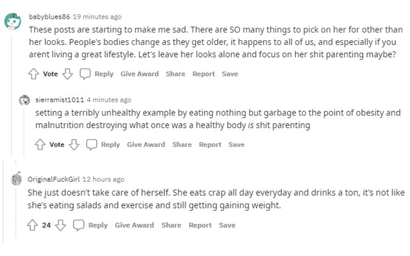 Jenelle diet