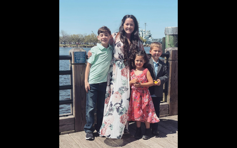 jenelle and kids