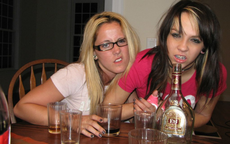 Jenelle young drinking
