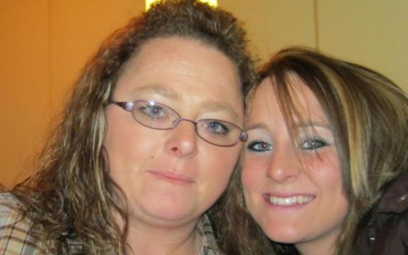 Leah and mama dawn