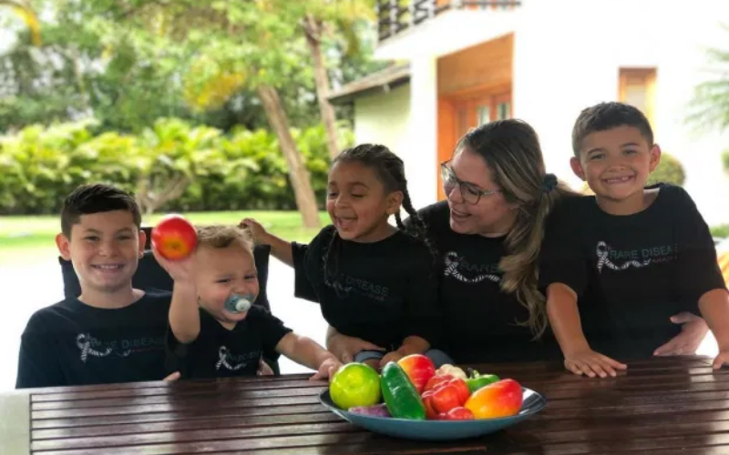 KAil and her boys