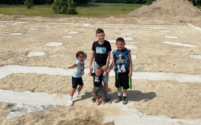 Kail's boys on land