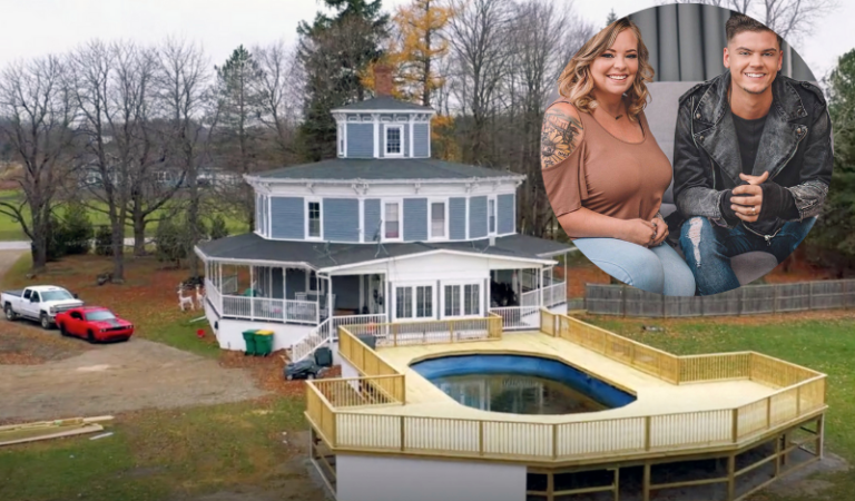 Teen Mom Star Catelynn Baltierra's Historic Home And New Penis Shaped Pool