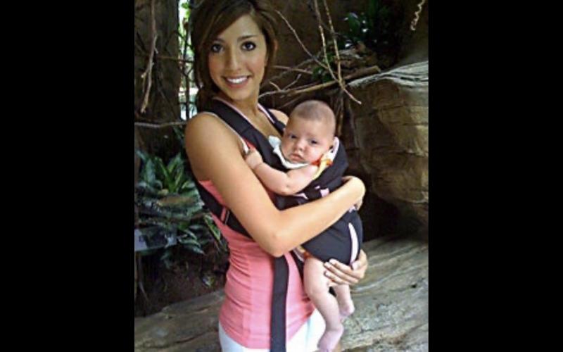 farrah and baby sophia