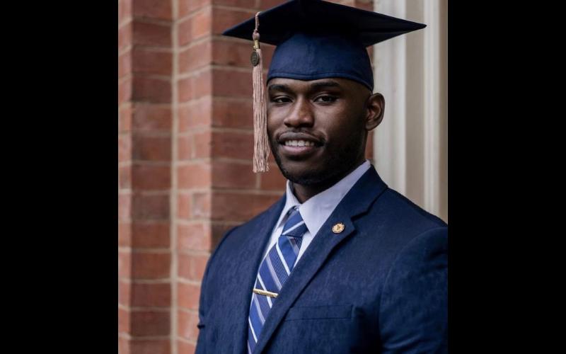 Jaylan M graduate