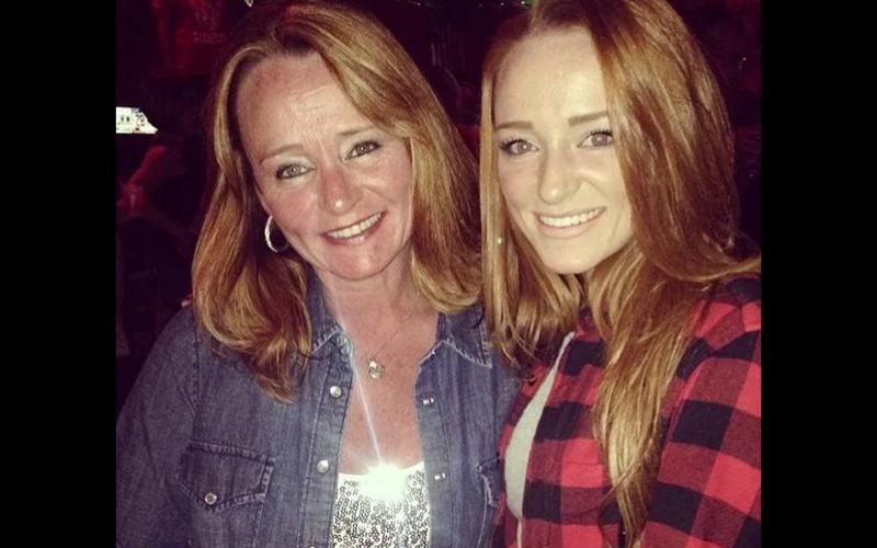 MAci and mom