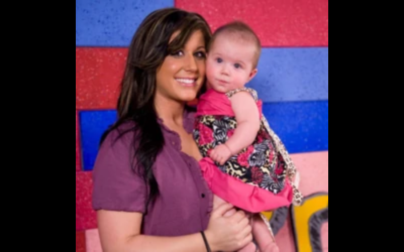chelsea and baby Aubree